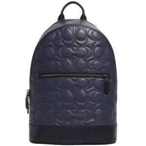 Coach Signature Quilted Backpack Designer Bag